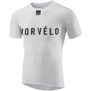 Morvelo Definitive White SS Baselayer - Unterhemd