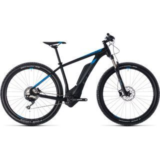 Cube Reaction Hybrid Race 500 27.5 2018, black´n´blue - E-Bike