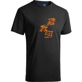 Cube T-Shirt Icon, anthracite´n´orange