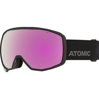 Atomic Count HD, black/Lens: pink/copper hd - Skibrille
