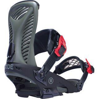 Ride Capo 2017, olive - Snowboardbindung