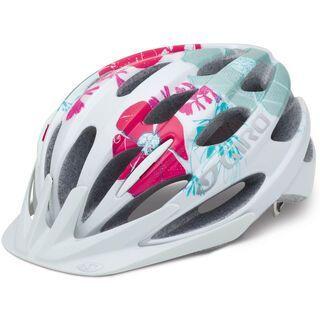 Giro Raze, white/pink wailua - Fahrradhelm