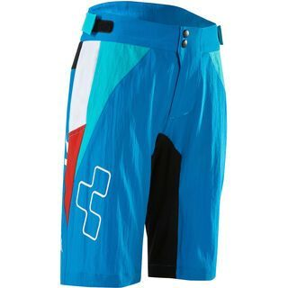 Cube Junior Action Team Shorts inkl. Innenhose blue´n´white´n´red