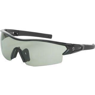 Scott Leap LS Sunglasses + Wechselscheibe, black/Lens: grey light sensitive - Sportbrille