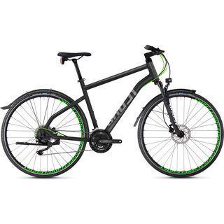 Ghost Square Cross X 5.8 AL 2018, gray/neon green - Fitnessbike