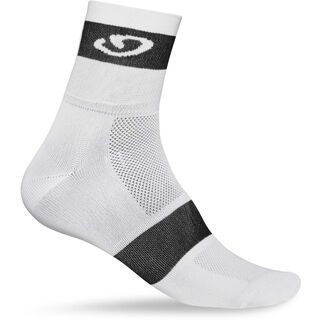 Giro Comp Racer 3 Pack, white black - Radsocken