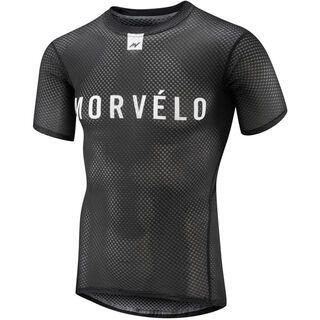 Morvelo Definitive Black SS Baselayer - Unterhemd
