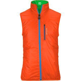 Ortovox Swisswool Light Vest Piz Grisch, absolute green - Weste