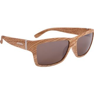 Alpina Kacey, wood/Lens: ceramic brown mirror - Sonnenbrille