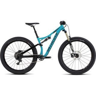 *** 2. Wahl *** Specialized Rhyme Comp 6Fattie 2017, turquoise/black - Mountainbike | Größe M // 43 cm