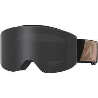Marker Squadron+ inkl. WS, black matt/Lens: black light hd - Skibrille