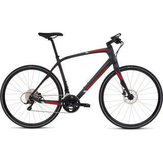 Specialized Sirrus Elite Carbon Disc 2016, carbon/red/blue - Fitnessbike