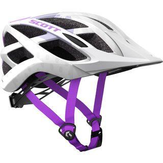 Scott Spunto Helmet, white/purple - Fahrradhelm