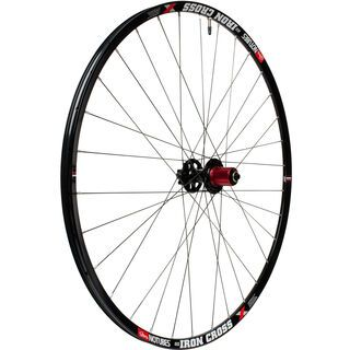 Stan's NoTubes ZTR Iron Cross Comp Disc, schwarz - Hinterrad