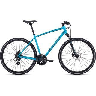 *** 2. Wahl *** Specialized Crosstrail Hydraulic Disc 2020, blue/black - Fitnessbike | Größe M // 45 cm