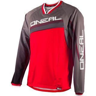 ONeal Element FR Long Sleeve Jersey Greg Minnar, red/grey - Radtrikot