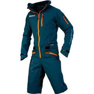 dirtlej DirtSuit Pro Edition, saphirblau/orange - Rad Einteiler