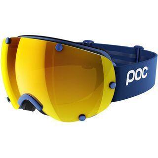 POC Lobes Clarity, basketane blue/lens: spektris orange - Skibrille