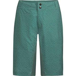 Vaude Women's Ligure Shorts inkl. Innenshorts, nickel green - Radhose