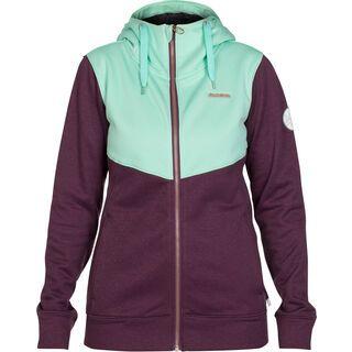 Zimtstern Izabelle Fleece Jacket, plum heather - Fleecejacke