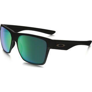 Oakley TwoFace XL, matte black/Lens: jade iridium - Sonnenbrille