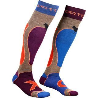 Ortovox Merino Ski Rock'n'Wool Socks, hot chocolate - Socken