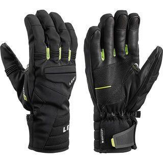 Leki Progressive 7 S mf touch, schwarz-lime - Skihandschuhe