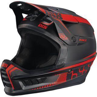 IXS Xact, black-fluo red - Fahrradhelm
