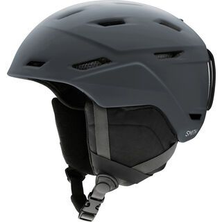 Smith Mission, matte charcoal - Snowboardhelm