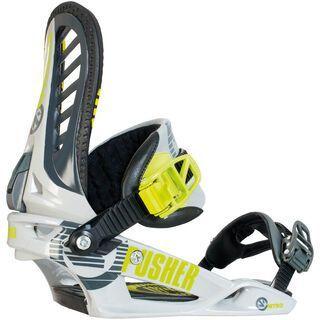 Nitro Pusher 2014, Neon Green - Snowboardbindung