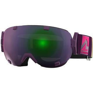 Marker Projector+ inkl. Wechselscheibe, violett/Lens: green plasma mirror - Skibrille