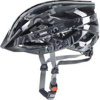 uvex Air Wing, dark silver-black - Fahrradhelm