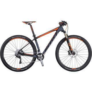 Scott Scale 930 2016, anthracite/black/orange - Mountainbike