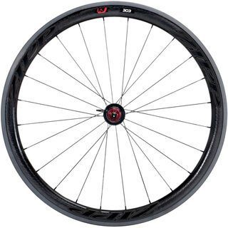 Zipp 303 Firecrest Carbon Clincher, black decor - Hinterrad