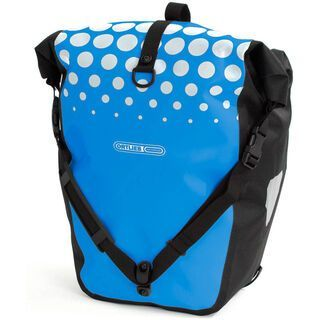 Ortlieb Back-Roller Classic Design, Dots / ozeanblau-grau - Fahrradtasche