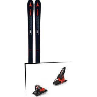 Set: Atomic Vantage 90 TI 2019 + Marker Jester 18 Pro ID black/flo-red
