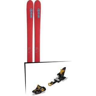 DPS Skis Set: Wailer 105 Hybrid T2 2016 + Marker Kingpin 10