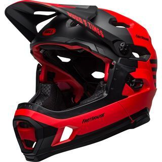 Bell Super DH Spherical MIPS, gloss red/black - Fahrradhelm