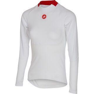 Castelli Prosecco W Long Sleeve, white - Unterhemd