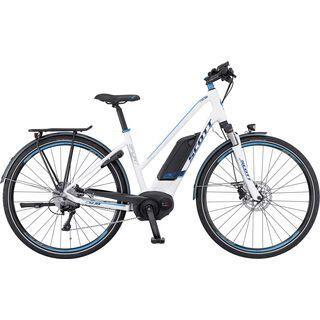 Scott E-Sub Sport Lady 2016, white/blue - E-Bike