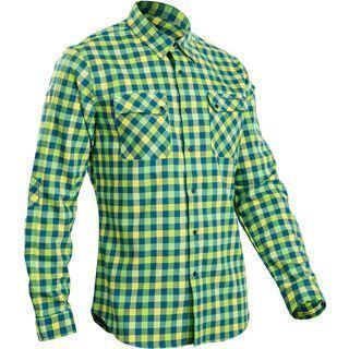 Sugoi Shop Shirt Long Sleeve Cannondale Collection, baltic/super nova - Hemd