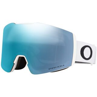 Oakley Fall Line XM Prizm, matte white/Lens: sapphire iridium - Skibrille