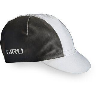Giro Classic Cotton Cap, white/black - Radmütze