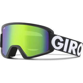 Giro Semi inkl. Wechselscheibe, black futura/Lens: loden green - Skibrille