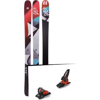 Set: Armada Trace 98 2019 + Marker Jester 18 Pro ID black/flo-red