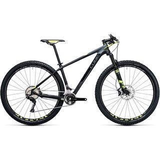 *** 2. Wahl *** Cube Reaction GTC SL 29 2017, carbon´n´flashyellow - Mountainbike | Größe 21 Zoll