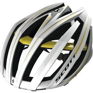 Scott Vanish Evo, white/yellow rc - Fahrradhelm
