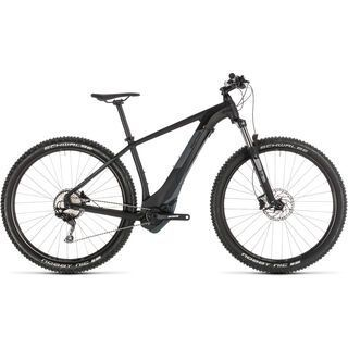 *** 2. Wahl *** Cube Reaction Hybrid EXC 500 29 2019, black´n´grey - E-Bike | Größe 17 Zoll