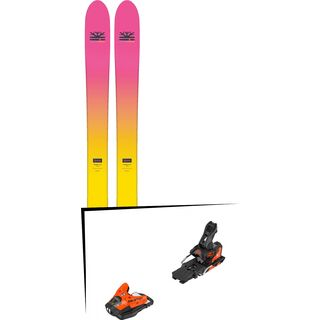 Set: DPS Skis Yvette 112 RP2 Foundation 2018 + Salomon STH2 WTR 13 orange/black