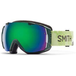 Smith I/O + Spare Lens, vagabond/green sol-x mirror - Skibrille
